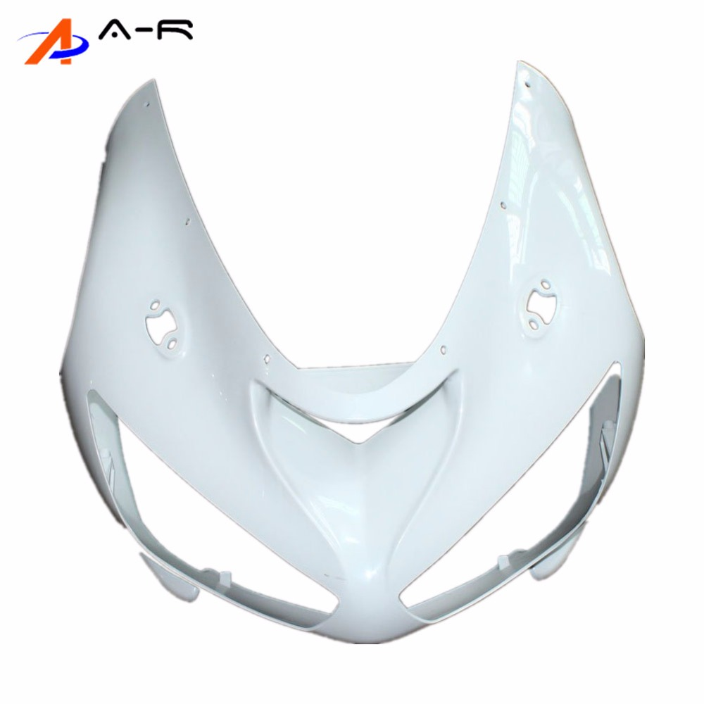 Unpainted Front head fairing Upper nose Cowling fairings for KAWASAKI Ninja 636 ZX 6R ZX6R ZX636