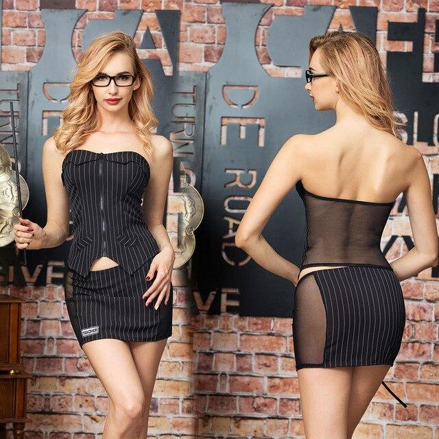 New Porn Women Babydoll Lingerie Sexy Hot Erotic Teacher Cosplay Sexy Transparent Underwear Erotic Lingerie Porno