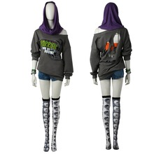 High-End Watch Dogs 2 Sitara Cosplay Costume Full Set Sitara Sexy Suit Halloween Costume for Adult Women Girls Custom-Made