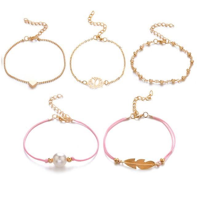 5 pc Charm Bracelet