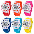Perfect Gift Waterproof Children Boys Digital LED Sports kids watches Alarm Date  digital watch Gift BU Levert Dropship Oct29