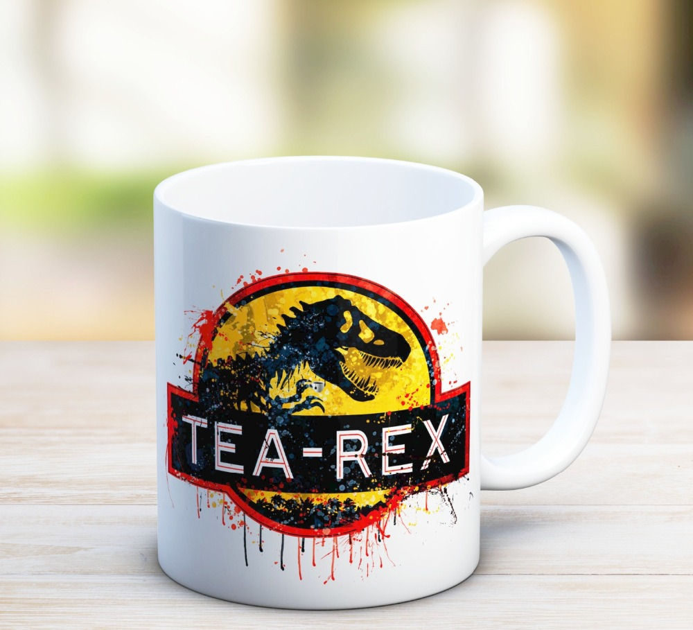 gift for dad fathers day daddy tea-rex Mugs home decal Tea art friend gift wine milk whisky beer novelty tea cup birthday gifts