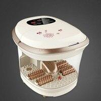 Electric Foot Massage Care Tool Tub Automatic Heating Foaming Basin Plantar Massager Pedicure Machine Deep Barrel Bath Hot Sale
