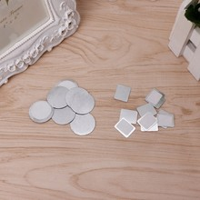 HUAMIANLI 10pcs Empty Magnetic Eyebrow Powder Pot Tin Palette Pans DIY Eyeshadow New(China)