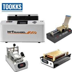 Pełny zestaw LCD Refubish maszyna do laminowania OCA + folia do laminowania OCA + klej usuń + LCD separator maszyna do naprawy telefonu zestaw narzędzi