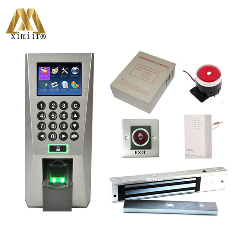 US $211.5 6% OFF|F18 Fingerprint Access Control Fingerprint Door Lock on
