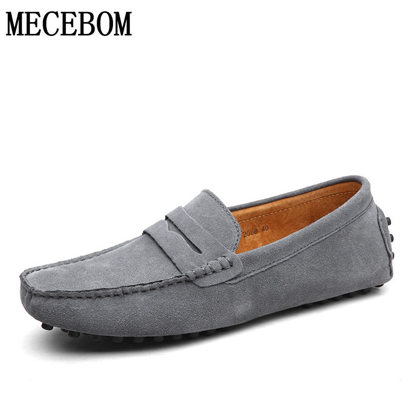 Mens loafers big size 38-47 leisure genuine leather shoes comfortable slip-on men business formal shoes chaussure homme 2088m vintage genuine leather shoes men slip on brogues dress shoes size 38 43 chaussure homme quality wedding shoes for men flats f31