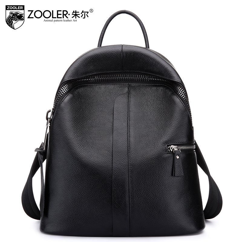 11-11 new 2017 soft genuine leather backpack lady fashion multi-functional woman bag luxury Backpack elegant top quality#8385 11 11 11