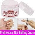 1pot Professional Nail Polishing Wax Nail Art Buffing Cream 50g Nail Art Decoration Varnish Tools Pink Wax Coat Luster Wholesale