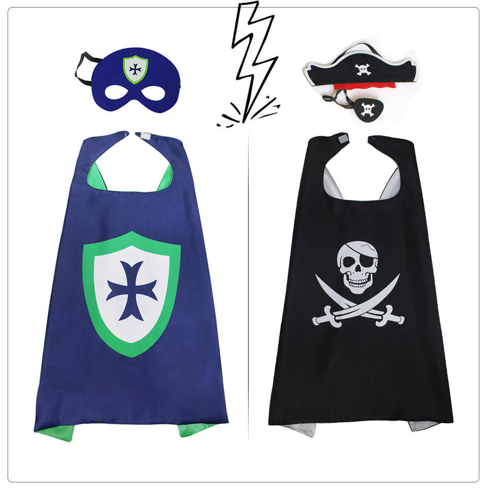 SPECIAL Captain Pirate Costumes Child Super Knight Costume Fancy Dress Halloween Christmas Toys Cartoon Party Movie Costume