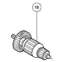 ARMATURE 220V-240V Rotor 360757E 360757F For Hitachi SP18SB