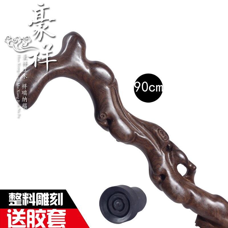 Černá dřevěná monolit carving mahagon vycházkové hůlky africký eben strom kořen vycházková hůl dřevo kvalitní hůl vycházková hůl