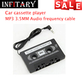Universal Audio Car Cassette Tape Adapter Converter MP3 Aux CD Tape Player Accessories cassette player for cars jack