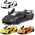1:36 Scale Emulational Alloy Diecast Models Car Toys, Brinquedos Miniature Pull Back Cars, Doors Openable 1pcs