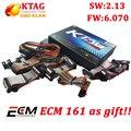 Full Set KTAG V2.13 Unlimited Version K TAG Master ECU Programming Tool K-TAG Hardware V6.070 get free ECM Titanium