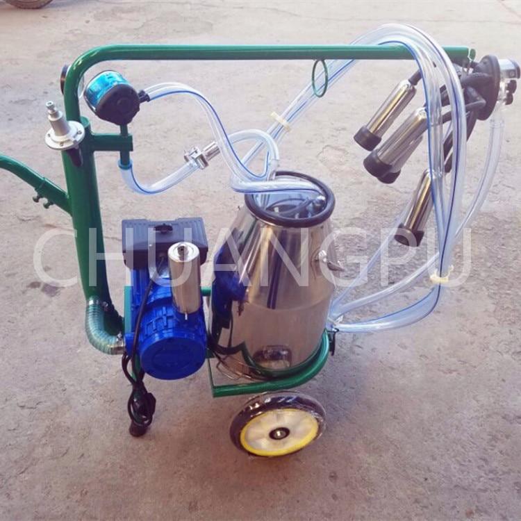 Новое поступление сухой лопастных насос корова Портативный доильный аппарат для продажи