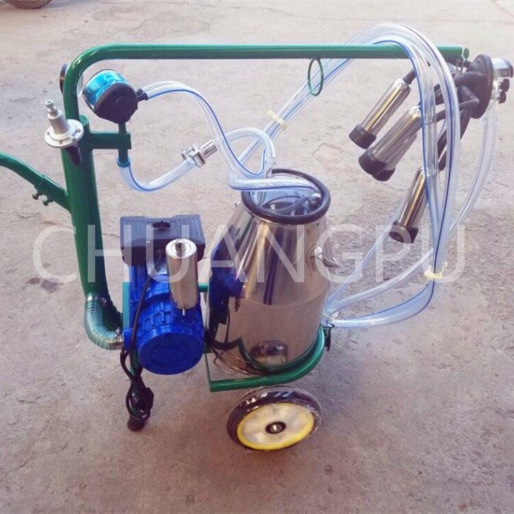 Новое поступление сухой лопасти насос корова портативный доильный аппарат для продажи