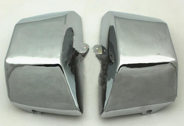 Бесплатная доставка мотоциклы изменение сторона крышка аккумулятор подходит для Король Стар Ямаха 400 / бой-баба XV400 X2PCS