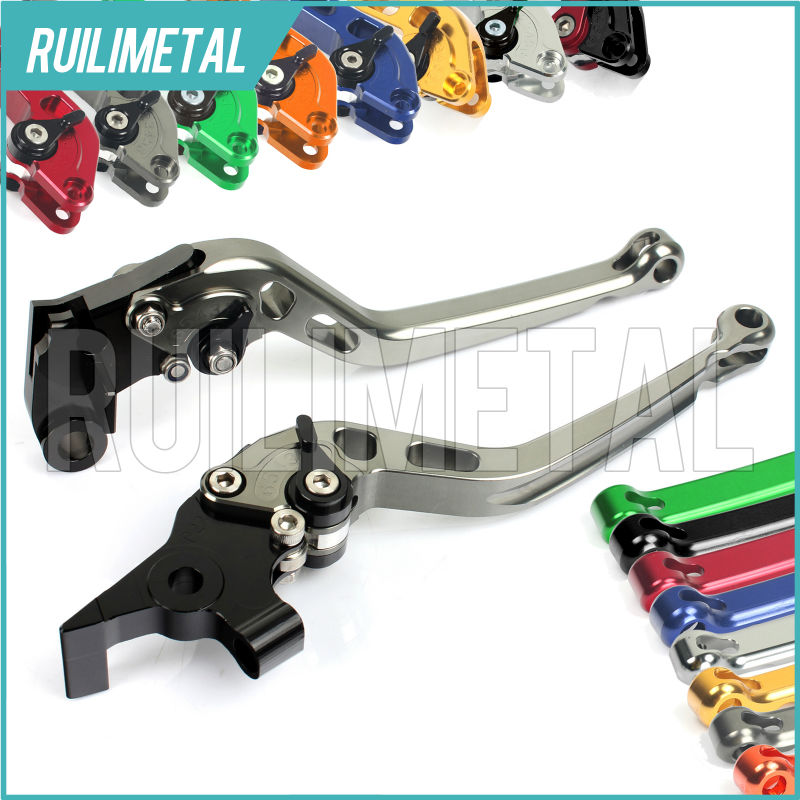 Adjustable long straight Clutch Brake Levers for DUCATI GT 1000 06 07 08 09 10 S2R 1000 Monster S4R  M1000 00 01 02 03 04 05 adjustable long folding clutch brake levers for hyosung gt250r gt 250 r gt r 250 06 07 08 09 10 2010 gv 250i aquila classic