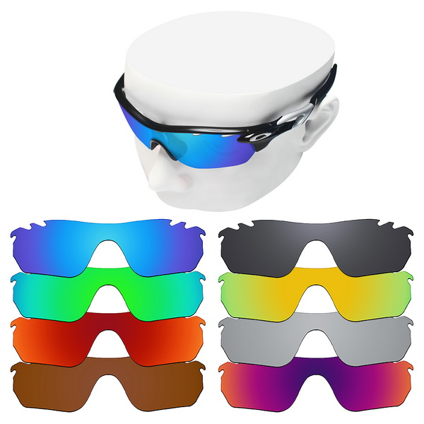 OOWLIT Polarized Replacement Lenses For-Oakley RadarLock Edge Vented OO9183 Sunglasses