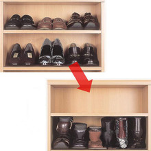 Coffee Shoes Hanger Rack Organizer Space Saver Must Have Plastic Shoes Rack Organizer Storage Stand Holder Wholesale #555