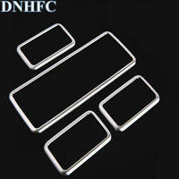 DNHFC Window lift switch Decoration Panel sequins For Land Rover Range Rover Sport 2014 2015 2016 L494 Auto Car Accessories