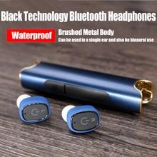 Bezo S2 Водонепроницаемый спортивные bluetooth наушники гарнитура беспроводная In-Ear Hi-Fi Беспроводные Функция шумоподавления гарнитуры Мобильный телефон вообще