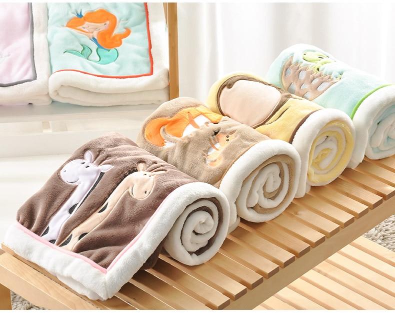 NEW Genuine Baby Blanket Baby Swaddle 100*75CM Wrap Newborn Super Soft Kids Bedding Diaper AKX11 new soft 100