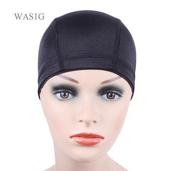 6pcs Glueless Hair Net Wig Liner Cheap Caps For Making Wigs Spandex Elastic Dome Cap - discount item  20% OFF Hair Tools & Accessories