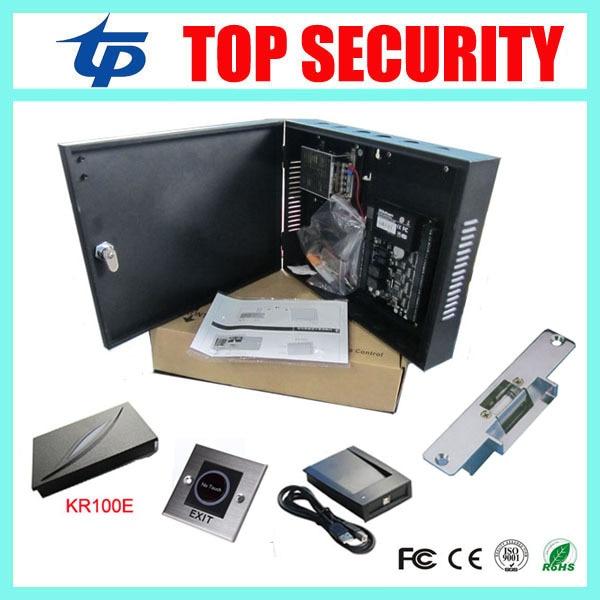ZK door access control system single door access control C3-100 access control panel linux system