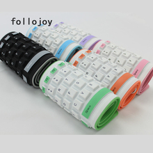 Wired waterproof silicone keyboard portable easy to pull computer laptop soft keyboard цена 2017
