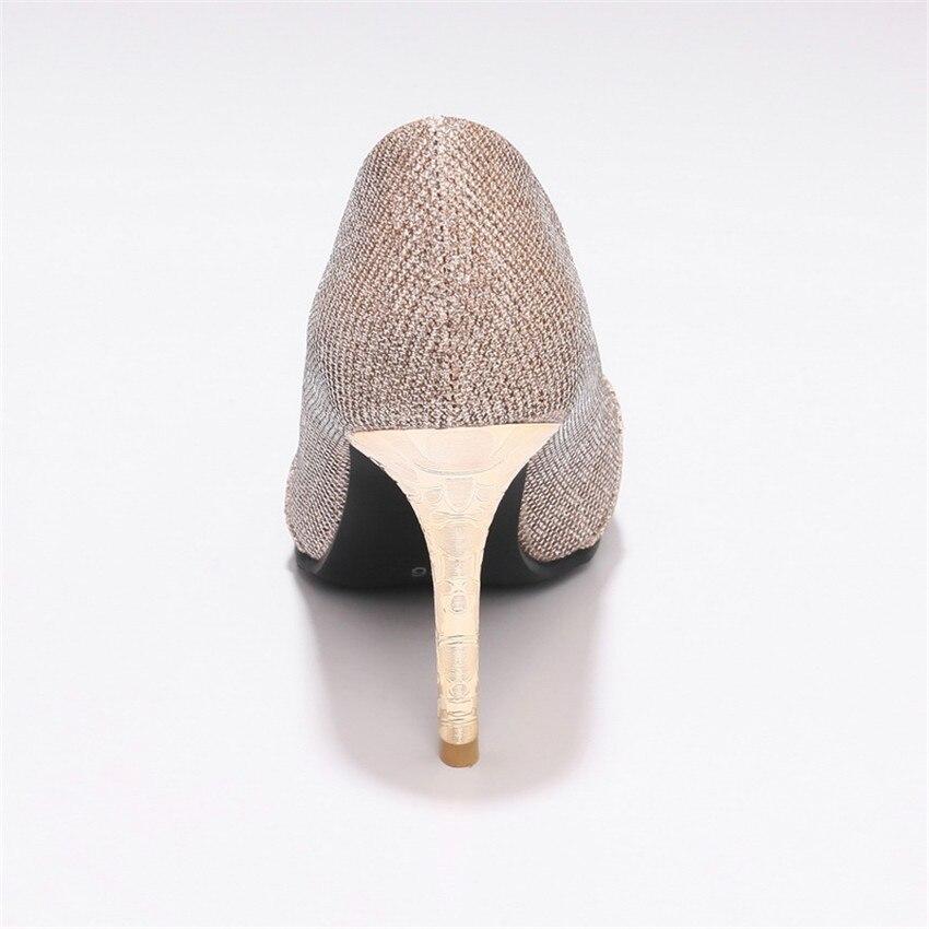 High Heels Women Pumps High Heel Shoes Stiletto Woman Party Wedding Shoes Kitten Heels Plus Size 33 - 40 41 42 43 44 45 46 47 48