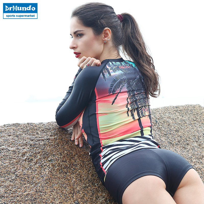Μακρύ μανίκι Φρουρά ριπών Γυναίκες - Αθλητικά είδη και αξεσουάρ - Φωτογραφία 2