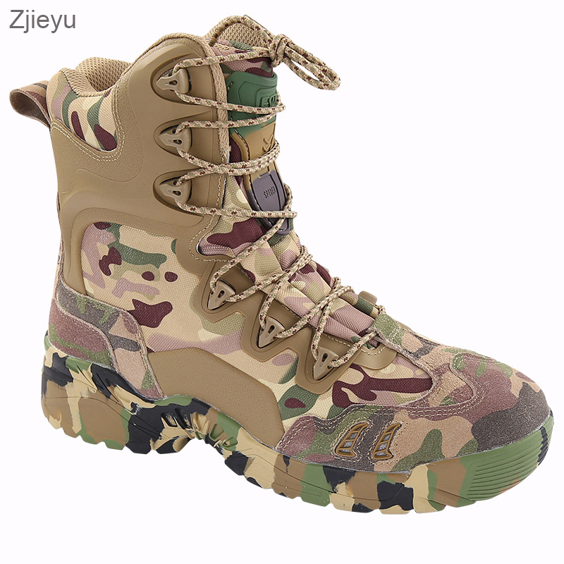2017 Men Military Tactical Boots Outdoor kamuflaj bot Army Combat Boots Desert Hiking Camouflage High-top Boots asker bot outdoor tactical boots army combat military boots snow training boots men s hunting sports hiking boots desert camouflage shoes