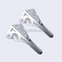 Free Shipping 2PCS LOT H30CM European Flower Adjustable Metal Leg Feet Chrome With Screws HM122
