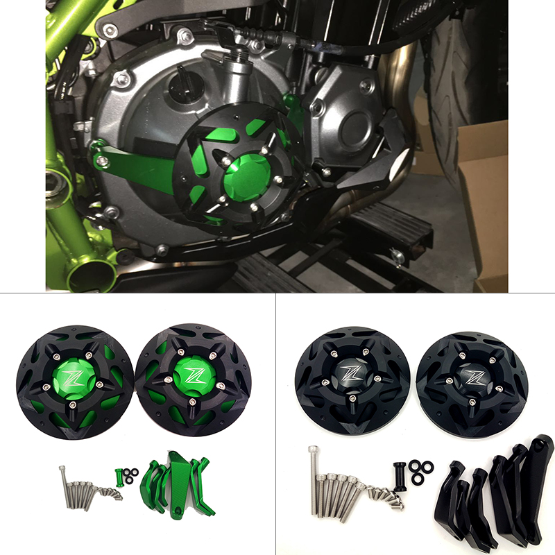 2017 Z900 NEW Engine Guard Protector For KAWASAKI Z900 2017 Engine Guard Case Slider Cover Protector Set Z 900 the white guard