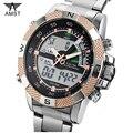 AMST Часы Мужчины многофункциональные Спортивные Военные Часы Кварцевые Аналоговые Цифровые Часы Relogio Мужской Часы Montre Reloj Hombre