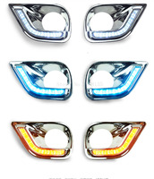 NEW A&T car styling 2014 For Toyota RAV4 led Daytime Running Light Fog light High Quality New RAV4 LED DRL