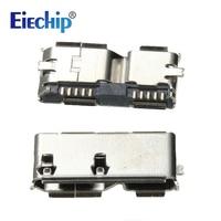 Free Shipping High Quality 5pcs HI Speed Micro USB 3 0 Female 10Pin SMD SMT Socket