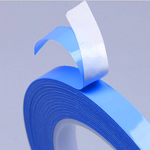 Length 25m/Roll Width Transfer Tape Double Side Thermal Conductive Adhesive Tape for Chip PCB LED Strip Heatsink(China)
