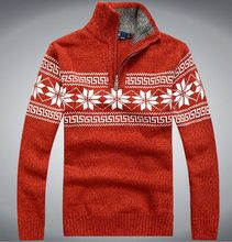 2016 New winter Fashion Casual Men Sweaters and Pullovers Famous Brand Zipper Sweater Men wool sweater M-XXL