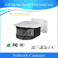 Free Shipping DAHUA Security IPC 4X2MP Multi Sensor Panoramic IR Bullet Network Camera POE IP67 Without