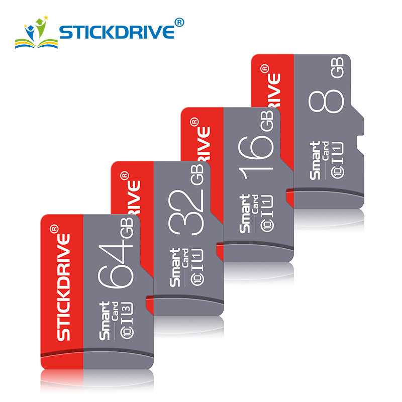 Class 10 Micro SD Card 32GB 64GB 16GB Memory Card Microsd TF Card 8GB 4GB Flash Cards For Smartphone/Camera