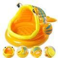 Adorável Tipo de Peixe Bebê Natação Inflável Piscina De Água Crianças Remar Banho Uso Doméstico Piscina Playground Piscinas zwembad