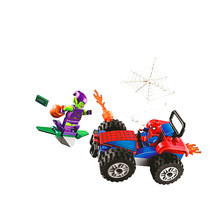 Bela 11184 Marvel Spider-Man Car Chase Building Blocks Toys Bricks Gift Compatible With Super Heros(China)