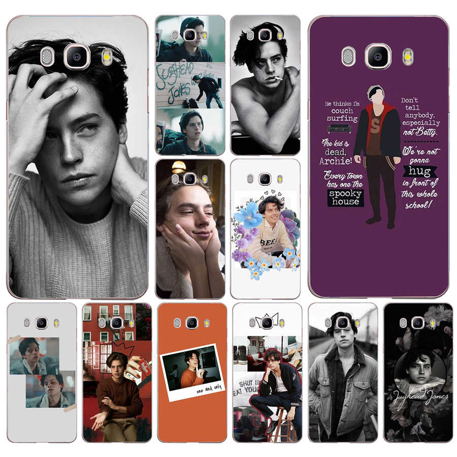 177FG tv riverdale Jughead Jones  Soft Silicone Tpu Cover phone Case for Samsung j3 j5 j7 2016 2017 j330 j2 j6 Plus 2018
