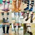 Fox Kids Meias de alta joelho Bota Criança Sock leg warmer Totoro meias Menina Collant enfant Crianças Chaussette Meias Bonito do Bigode