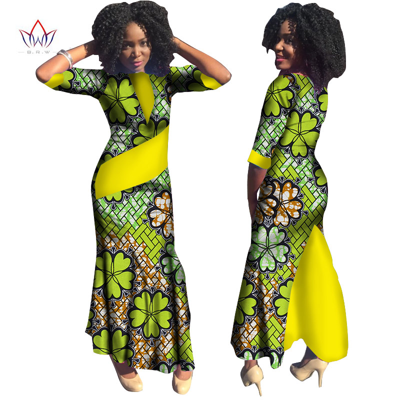 African Women Fashion: Plus Size Summer Dresses Women 2017 Traditional African