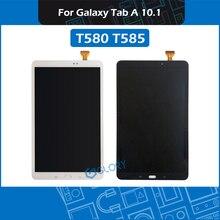 10.1 T580 T585 หน้าจอ LCD สำหรับ Samsung Galaxy Tab A 10.1 SM T580 SM T585 จอแสดงผลเปลี่ยน