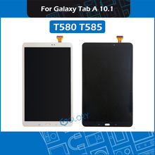 10.1 T580 T585 LCD Screen assembly For Samsung Galaxy Tab A 10.1 SM T580 SM T585 Display assembly Replacement